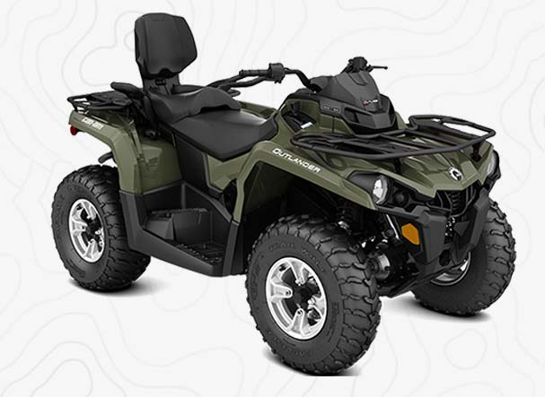 Can Am Outlander Max 570 Montana ATV Rentals