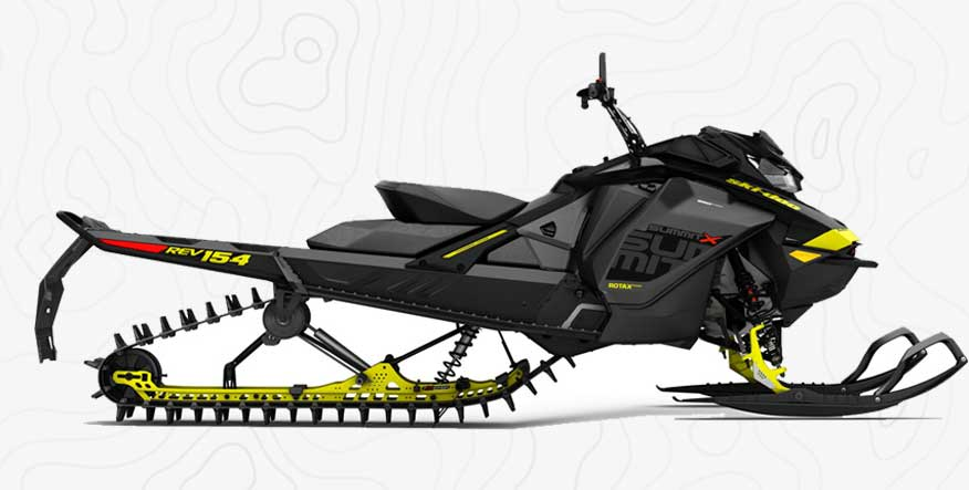 Ski Doo Summit 850 154 montana snowmobile rental
